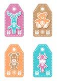 Christmas tags Royalty Free Stock Photography