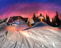 Christmas Tale for climbers, 2014 Royalty Free Stock Photo