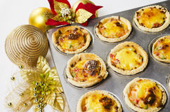 Christmas Tart Stock Photography