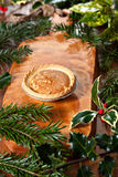 Christmas tart Royalty Free Stock Photography