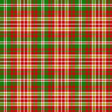 Christmas tartan pattern Stock Images