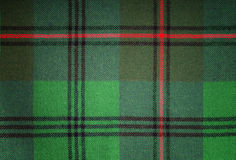 Christmas Tartan Royalty Free Stock Photo