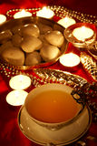 Christmas tea Stock Photography