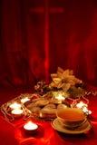Christmas tea royalty free stock photos