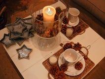 Christmas tea Stock Image