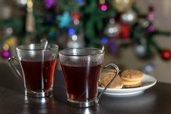 Christmas tea Royalty Free Stock Photo