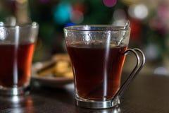 Christmas tea Royalty Free Stock Images