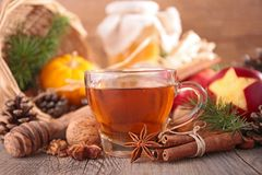 Christmas tea Stock Photo