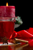 Christmas tea Stock Images