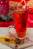 Christmas tea Stock Image