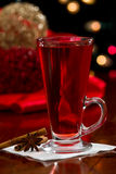 Christmas tea Royalty Free Stock Images