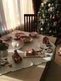 Christmas Tea Party Royalty Free Stock Photos