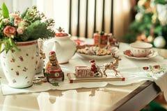 Christmas Tea Party Royalty Free Stock Image
