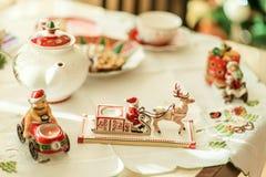 Christmas Tea Party Royalty Free Stock Photo