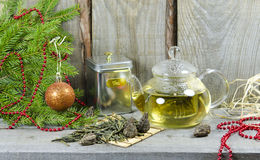 Christmas Tea Party royalty free stock images