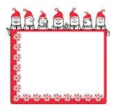 Christmas teamwork & blank space Royalty Free Stock Photography