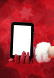 Christmas technology Stock Image