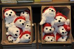 Christmas Teddies Royalty Free Stock Photo