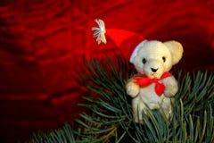 Christmas teddy Royalty Free Stock Photography