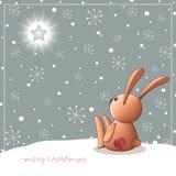 Christmas_teddy Photographie stock libre de droits