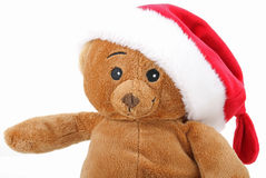Christmas teddy bear Royalty Free Stock Photo