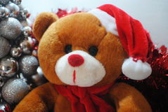 Christmas teddy Royalty Free Stock Photography