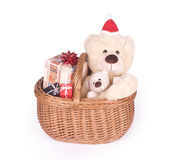 Christmas Teddybears Stock Image