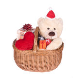 Christmas Teddybears Stock Images