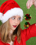 Christmas Teen Royalty Free Stock Images