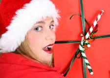 Christmas Teen Stock Image