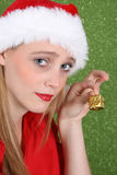 Christmas Teen Royalty Free Stock Photos