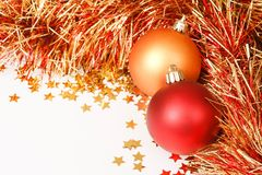 Christmas template Royalty Free Stock Photography