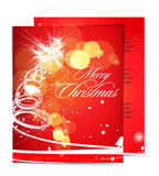 Christmas template designs Royalty Free Stock Photo
