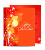Christmas template designs Royalty Free Stock Image