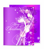 Christmas template designs Stock Photos