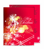 Christmas template designs Stock Image