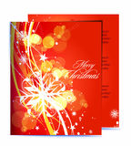 Christmas template designs Stock Photos