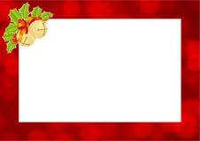 Christmas template Stock Image