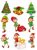 Christmas templates Stock Image