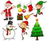 Christmas templates Stock Photo