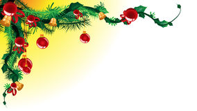 Christmas text place Royalty Free Stock Photography