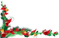 Christmas text place Royalty Free Stock Photos