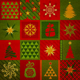 Christmas texture background Stock Image
