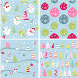 Christmas texture, patterns Royalty Free Stock Photo