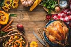 Christmas or Thanksgiving turkey stock images