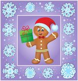 Christmas thematics greeting card 3 Stock Photos