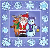 Christmas thematics greeting card  Royalty Free Stock Photo