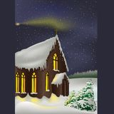 Christmas theme 04. High detailed vector illustration Stock Photography