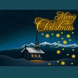 Christmas theme 05 Stock Images