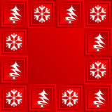 Christmas theme. Seasonal and holiday background royalty free illustration
